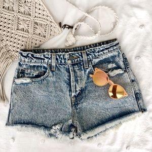 Carmar Cutoff Denim Shorts